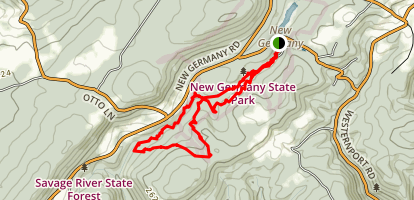 New Germany Trail Map