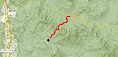 East Pond Trail Map