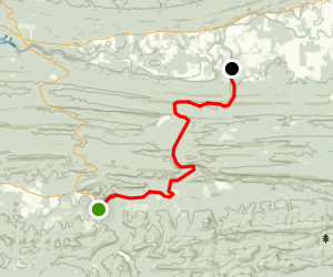 South Fourche Lafave River: Hollis To Deberrie Map