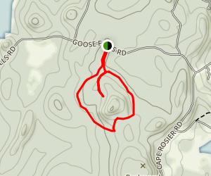 Backwood Mountain Trail Map