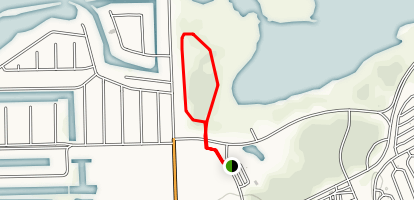 Middle Harbor Trail Map