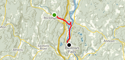 Williams River, Herricks Cove, and Connecticut River - Southern Section Map