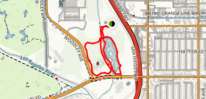 Sepulveda Nature Walk Map