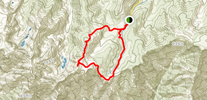 Morezón and Paredes Negras Trail Map