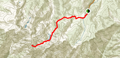 Pico Almanzor Trail Map