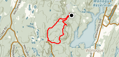 Weis Ecology Center Campground Map