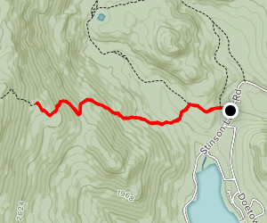 Carr Mountain Trail Map