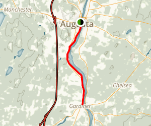 Kennebec River Trail Map