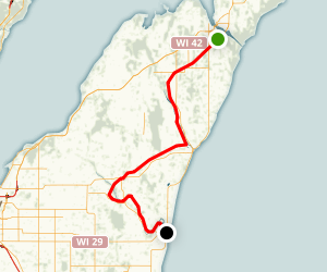 Ahnapee State Trail Map
