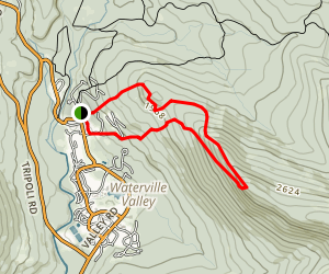 Snow's Mountain Trail Loop Map