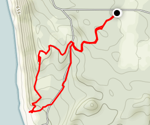 Green Point Dunes Nature Preserve Trail Map