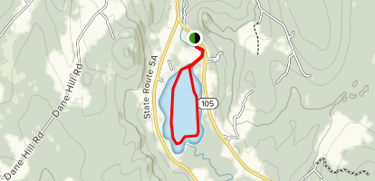Clyde River and Pensioner Pond Map