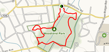Woodland Park Loop Map