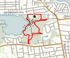 Brickyard Pond Loop Map