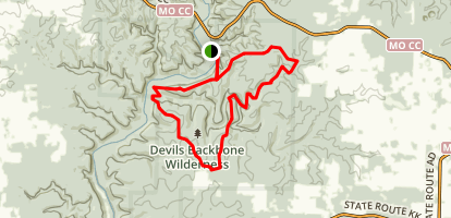 North Fork Recreation Area Trails Map