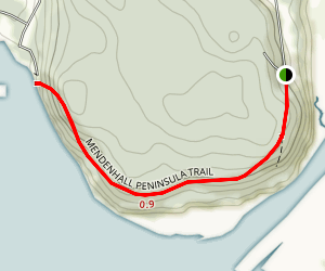 Mendenhall Peninsula Trail Map