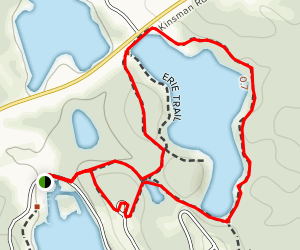 Erie Trail Map