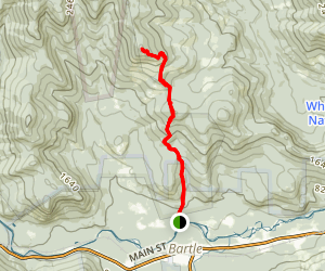 White Mountains - Mount Parker Hike Map