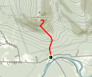 Cave Mountain Trail Map