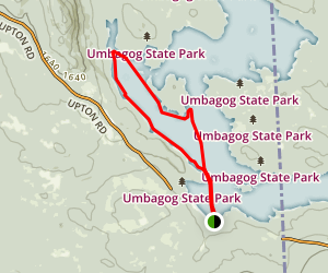Lake Umbagog Map