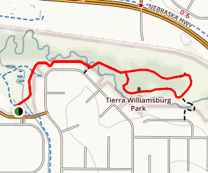 Tierra Williamsburg Park Loop Map