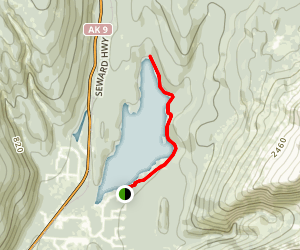 Bear Lake Trail Map