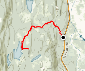 Greyling Lake Trail Map