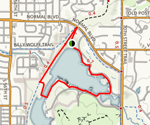 Antelope Creek Trail Map