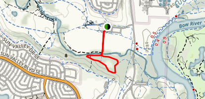 Bow Valley Ranch Loop Map