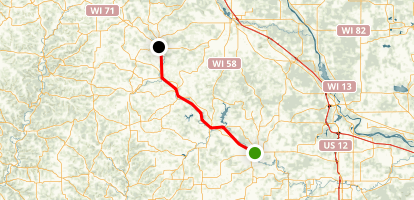 The '400' State Trail Map