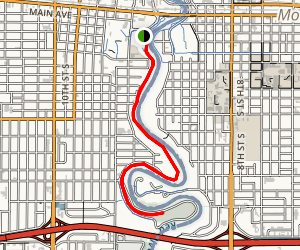 Red River of the North Trail Map