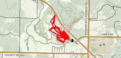 Crystal Mountain Trails Map