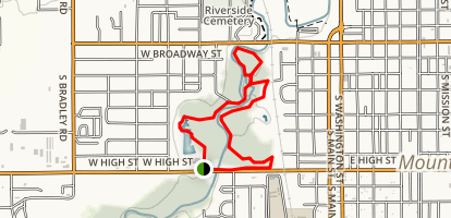 Mill Pond Park Loop Trail Map
