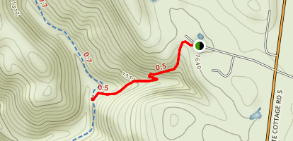 Devils Punchbowl Trail [PRIVATE PROPERTY] Map
