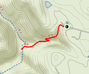 Devils Punchbowl [PRIVATE PROPERTY & CLOSED] Map