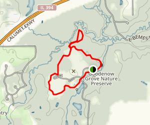 Goodenow Grove Trail Map