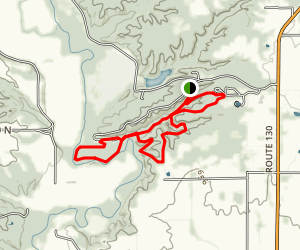 Fox Ridge State Park Loop Trail Map