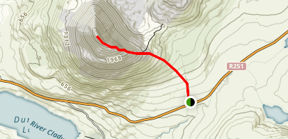Mount Errigal Map