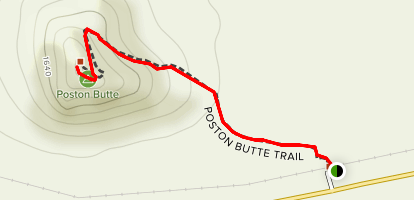 Poston Butte Map