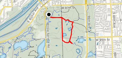 Willow Spring Woods Map
