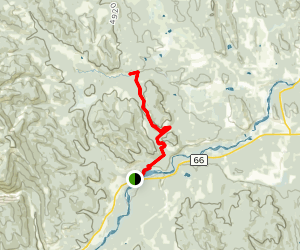 Iron Springs Trail Map