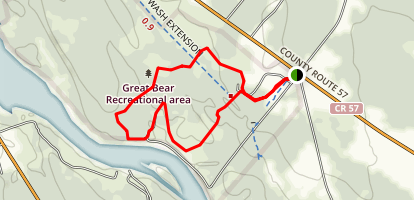 Great Bear Recreational Area Loop Trail Map