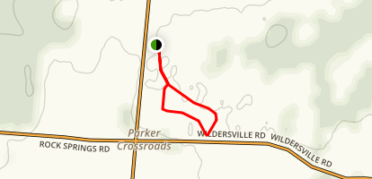 Parker's Crossroads Loop Trail Map