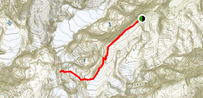 Franz-Senn Hut Map