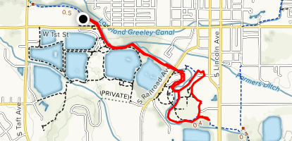 Thompson Valley Loop Trail Map