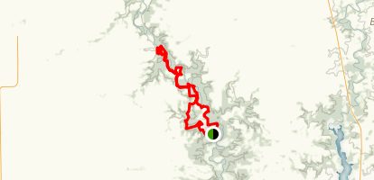 Middle Fork State Fish and Wildlife Area Loop Map