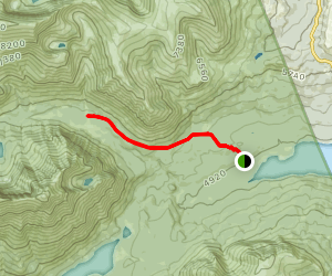 Dry Fork Trail Map