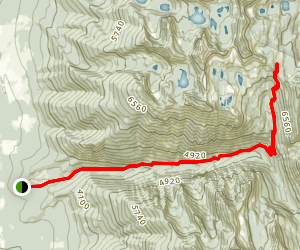 Crow Creek Trail Map
