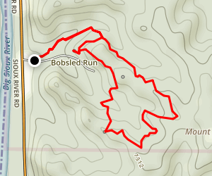 Fox Run Loop Map