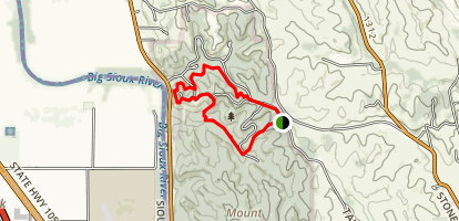 Stone State Park Loop Trail Map